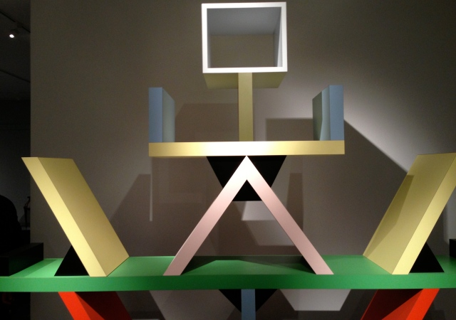 """Carlton"" room divider 1981, Ettore Sottsass, Italian, wood, plastic laminate"