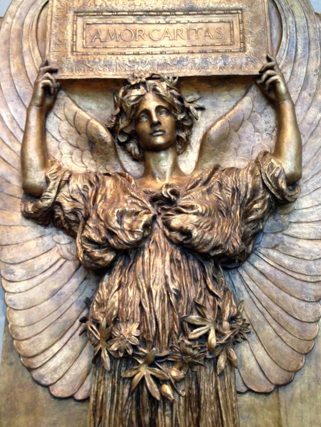 Amor Caritas, Augustus Saint-Gaudens