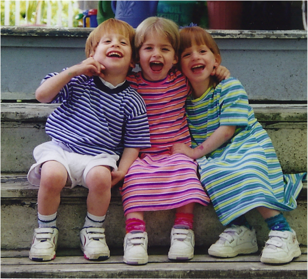 my triplets at age 3 1/2