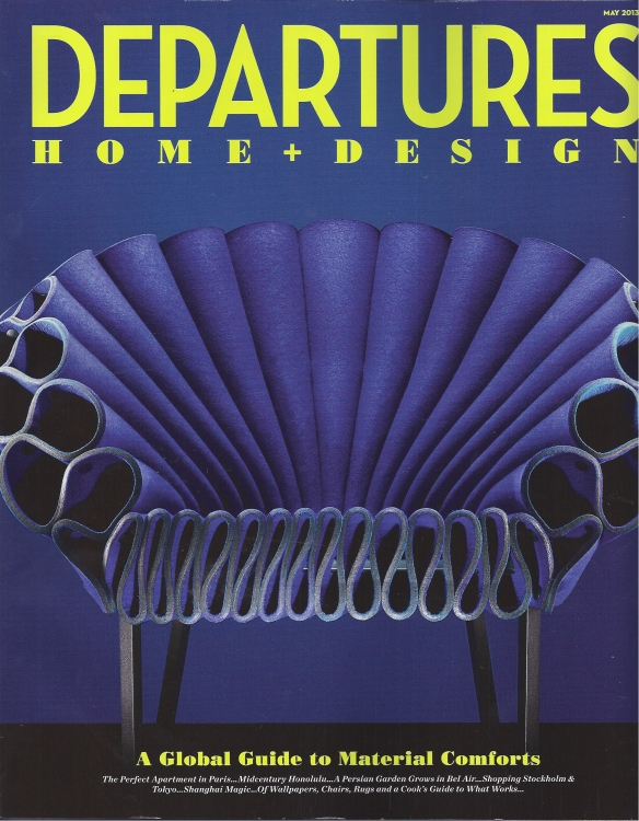 Departures cover, May 2013