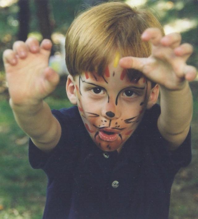 """""""Growl, I'm a tiger!"""""""