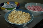 snacks by mani/pedi station
