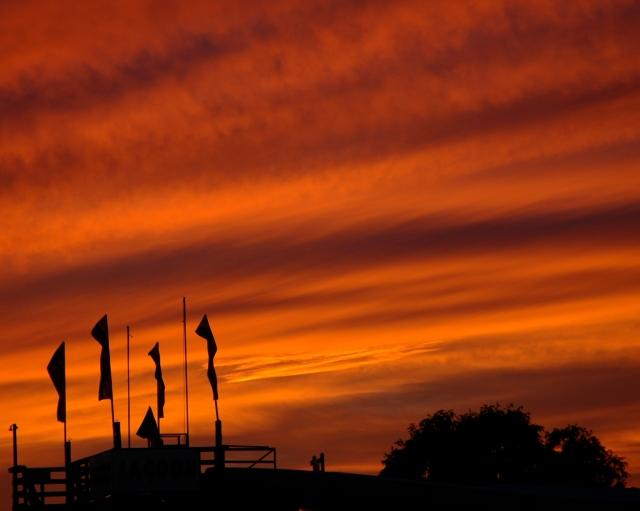 Sunset at Rehoboth Beach, DE