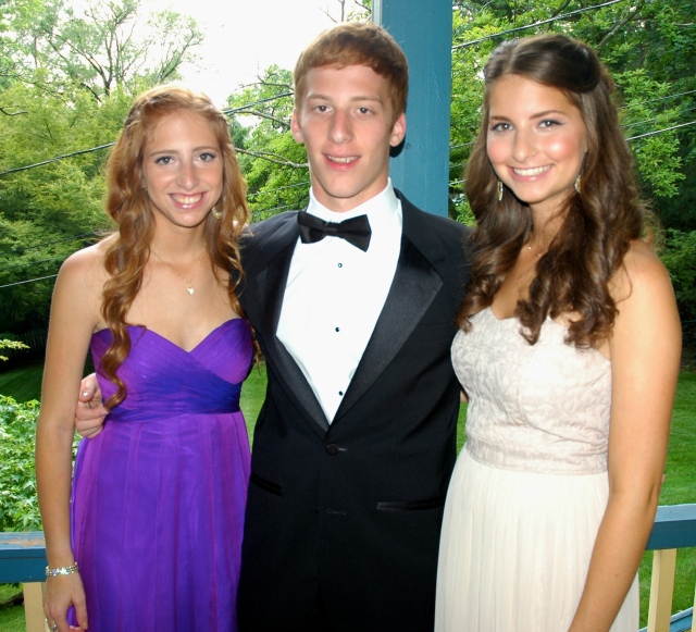 Senior Prom Pic of Baby A, B and C, 2012