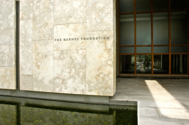 The Barnes Foundation, Philadelphia, PA