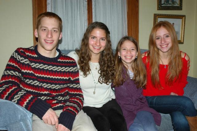 Triplets age 18, Plus One age 11
