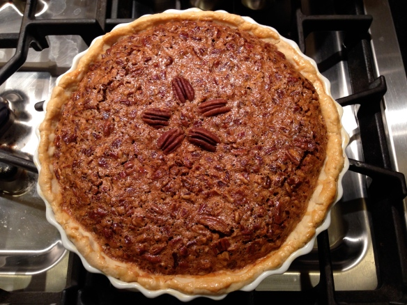 Pecan Pie:  Enjoy!