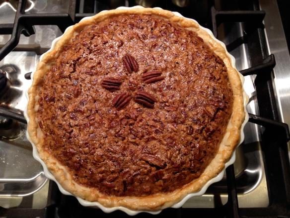 Pecan Pie:  Enjoy!