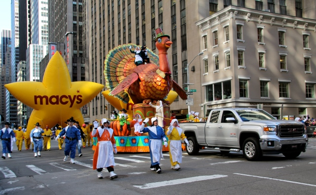 When you see Tom Turkey, you know the parade has started.