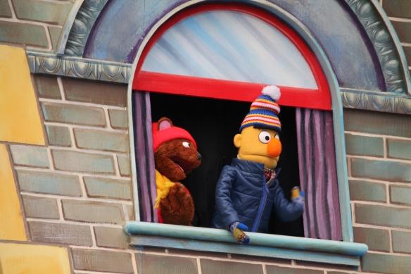 Baby Bear and Bert
