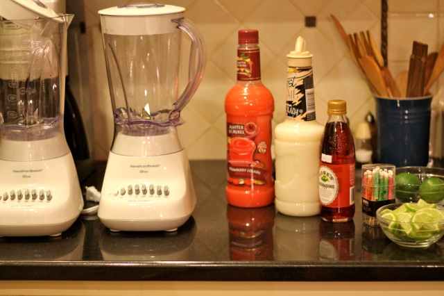 Blenders and Mocktail .Ingredients