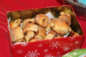 Homemade Rugelah-Yum!