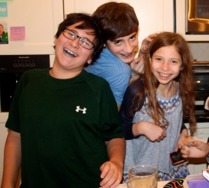 Tween Daughter with her friends.