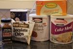 Passover ingredients.
