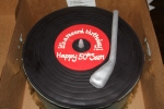 Record player cake from Sweet Lucy's in Morristown.