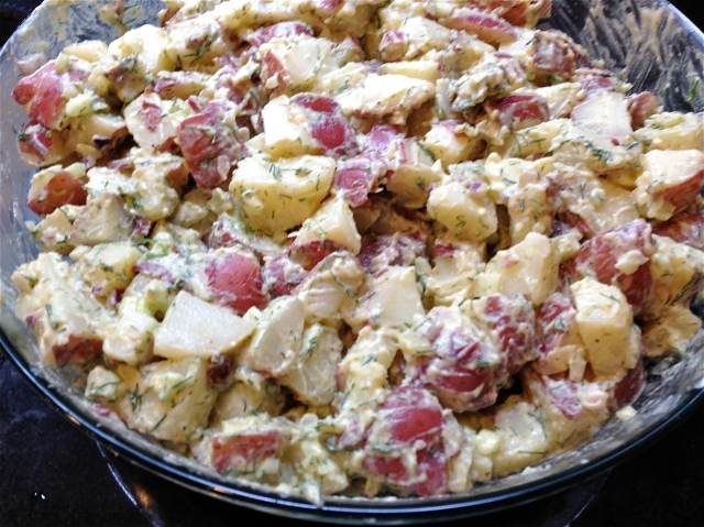 Old-Fashioned Potato Salad from cookbook Barefoot Contessa at Home