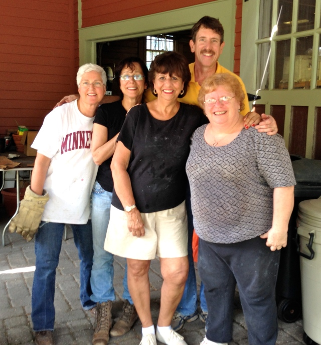 Raku Crew:  Mary, Sharon, Judy, Peter, Maxine (and me).