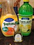 Add 2 Tablespoons of orange juice, 1 teaspoon of lemon juice, and 1/2 teaspoon of lemon extract.