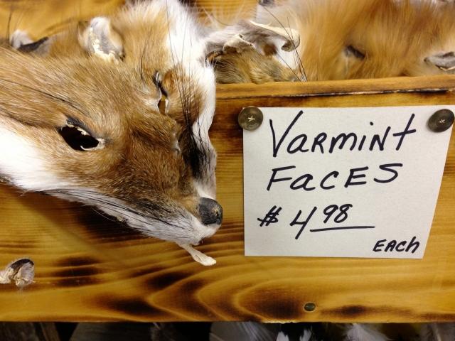 Varmint Faces.