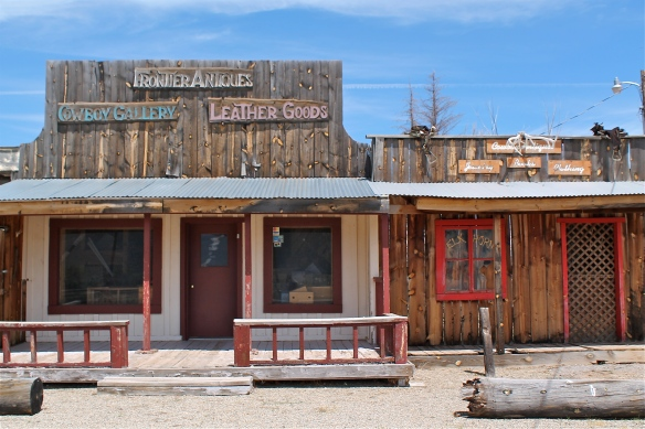 Old West store front.