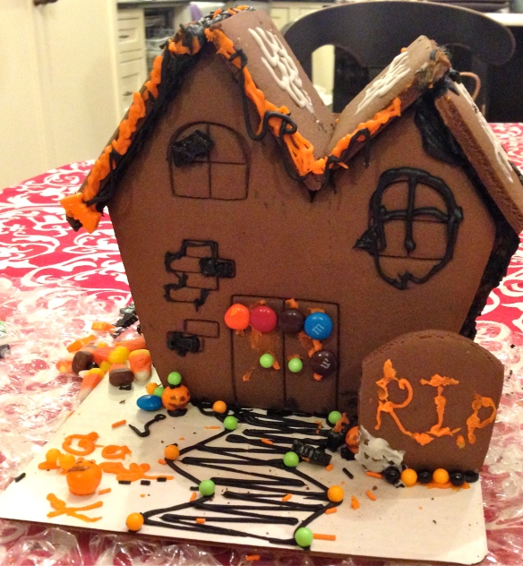 Maybe next year, we should have a Kids-Versus-Grown-ups Haunted House contest!