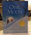 Owl Moon by Jane Yolen, illustrated by