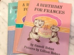 Frances books by Russell Hoban, illustrated by Lillian Hoban
