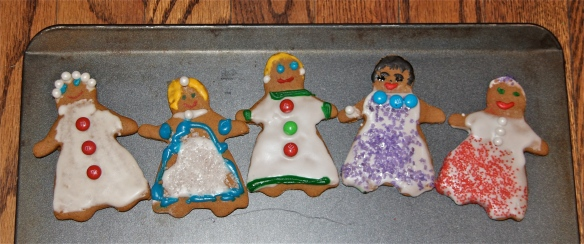 Sassy, classy, tasty gingerbread ladies!