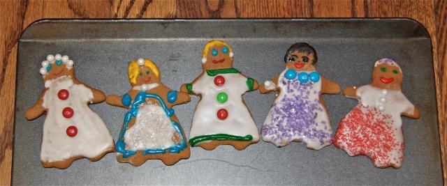 Sassy, classy, tasty gingerbread ladies!