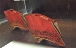 Shoes for Women's Bound Feet (Chinese) 19th century Qing Dynasty, embroidered satin, wood, paper
