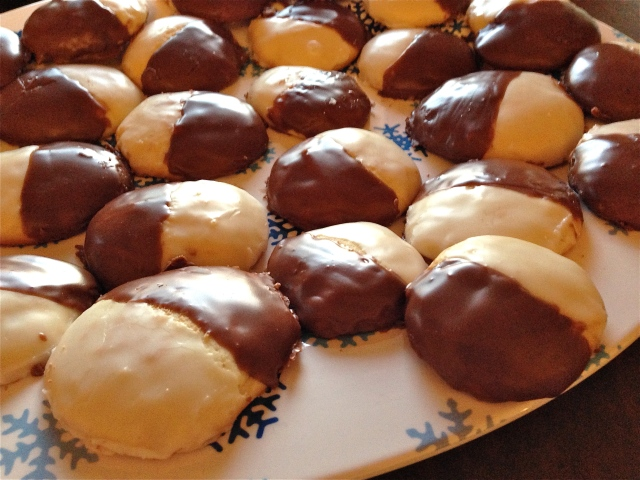 Classic Black-and-White Cookies