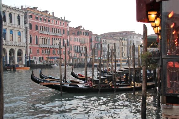 Gondolas in Venice, Italy