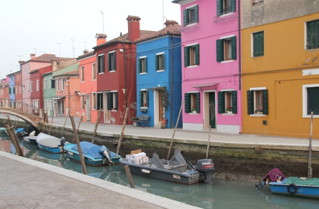 Colorful canal.