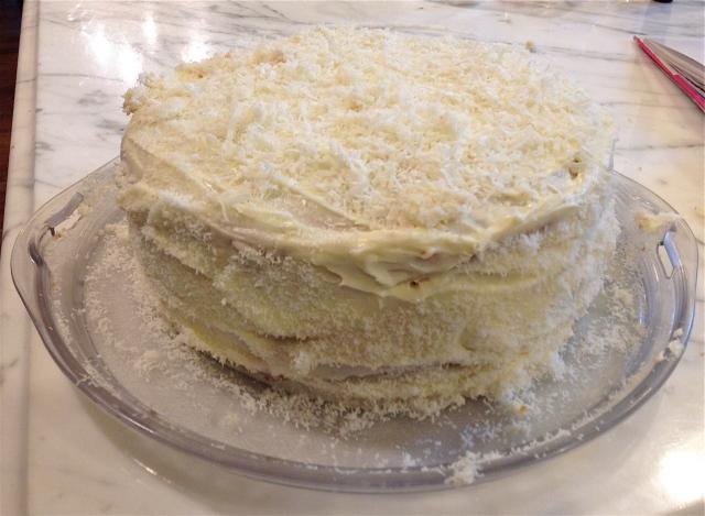 Coconut Cake c/o Ina Garten