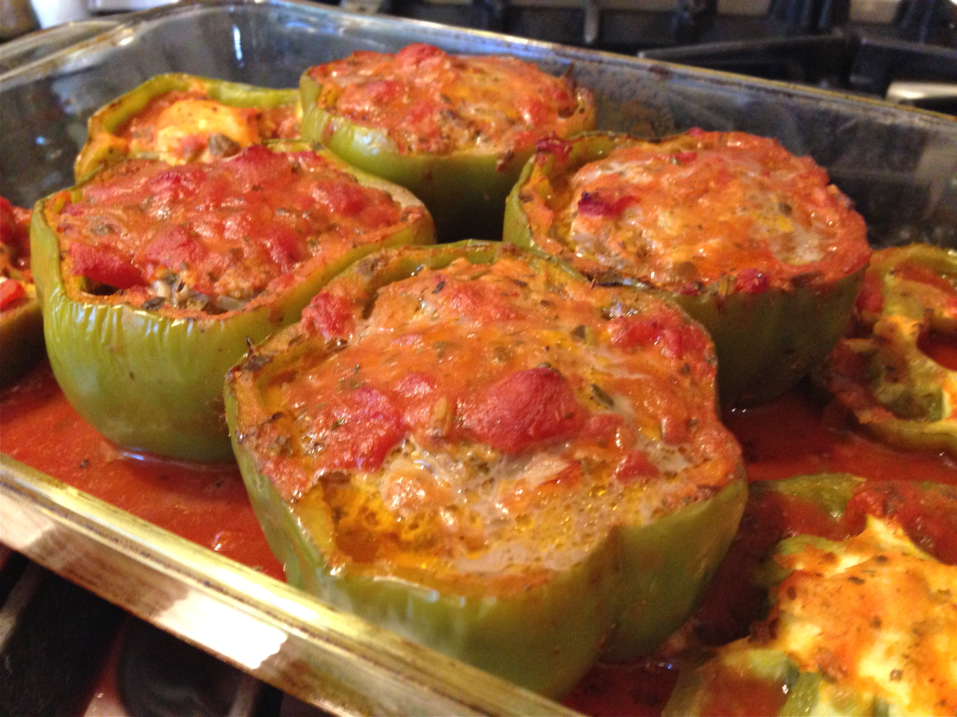 Stuffed Green Peppers | Bmore energy