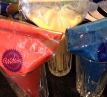 4. Seal pastry bags or Ziploc bags OR skip this step if not using bags at all.