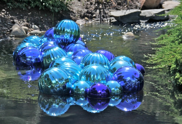 Dale Chihuly blown glass.