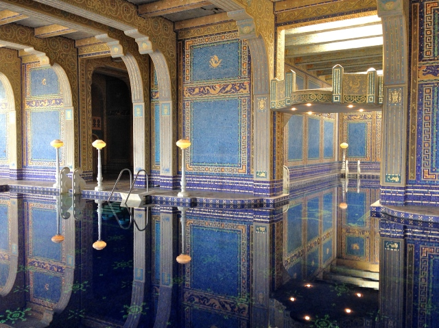 Roman Pool at the Hearst Castle.