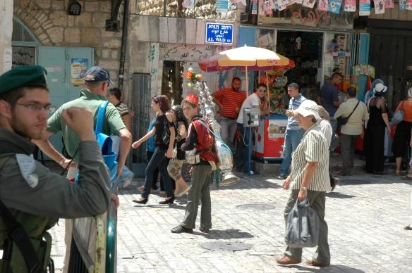 Arab souk (market), Jerusalem, Israel