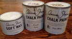 "Annie Sloan's paint is called ""Chalk Paint"" because of the texture once it's applied."