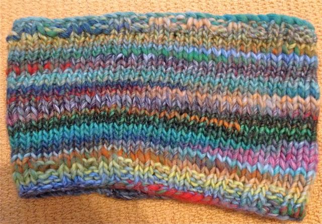 Two Stitch Infinity Scarf