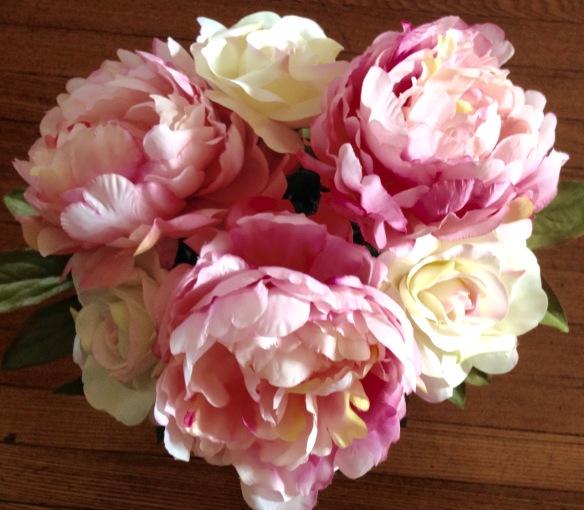 DIY Silk Flower Arrangement