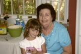 My mom and 4th granddaughter.