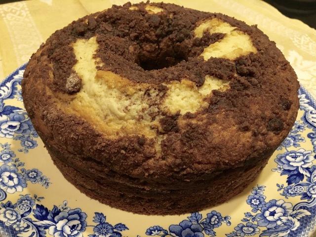Cinnamon Streusel Coffeecake