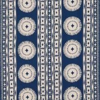 Fabric by Schumacher, Bora Bora in Marine.