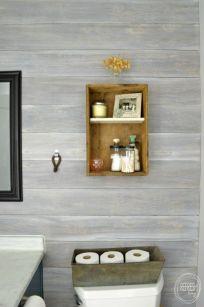 Rustic Powder Room found on Refresh Living.