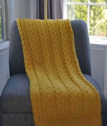 Yellow Throw.