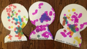 Decorate with dot markers.