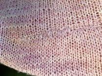 Kitchener stitch bind off.