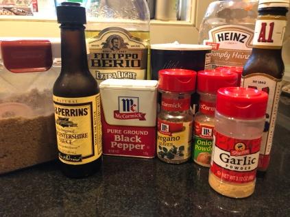 Gather ingredients.
